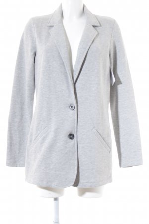 Street One Long-Blazer hellgrau Casual-Look