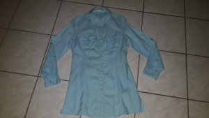 Street One Blouse longue turquoise lin