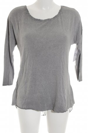 Street One Longsleeve grau Casual-Look