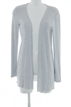 Street One Long Knitted Vest light grey flecked casual look