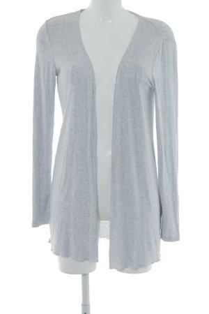 Street One Cardigan lungo smanicato grigio chiaro puntinato stile casual e8237d5cb1