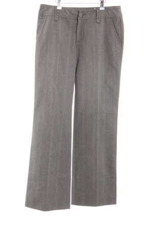 Street One Marlene Trousers light grey check pattern business style