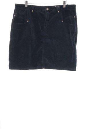 Street One Mini-jupe bleu foncé style décontracté