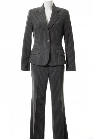Street One Pinstripe Suit grey-white pinstripe business style