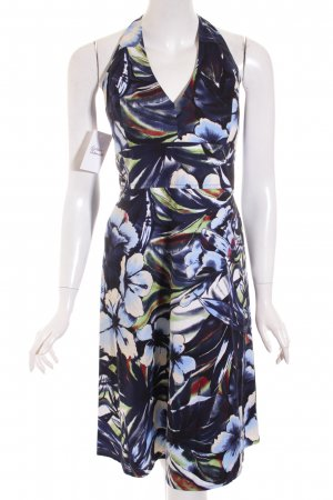 Street One Halter Dress floral pattern beach look