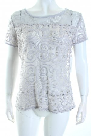 Street One Mesh Shirt light grey transparent look