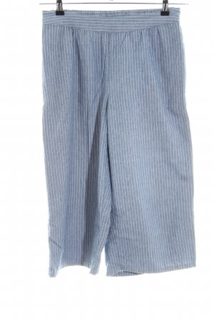 Street One Palazzo Pants blue striped pattern casual look