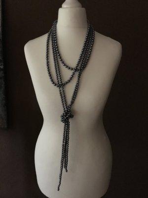 Street One Perlenkette grau variabel