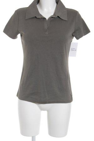 Street One Polo-Shirt grüngrau sportlicher Stil