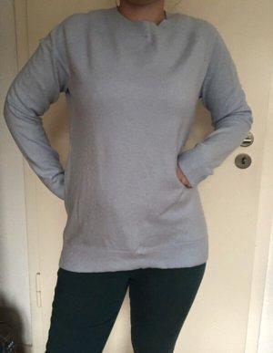Street One Pullover mit Wollanteil Hellblau 36