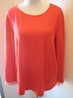 Street one Pullover Orangerot Gr 42