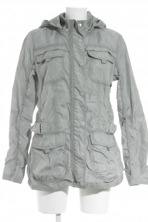 Street One Raincoat silver-colored classic style