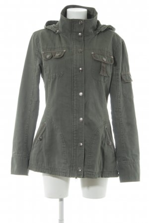 Street One Safari Jacket green grey safari look