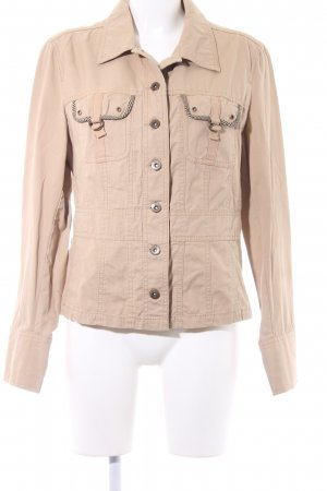 Street One Safari Jacket oatmeal safari look