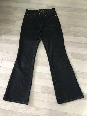 Street One Jeans bootcut noir
