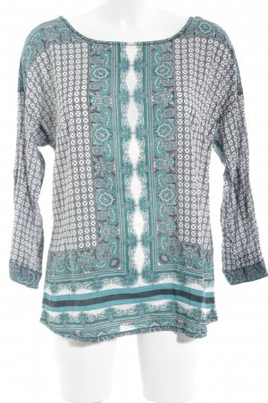 Street One Slip-over Blouse mixed pattern casual look