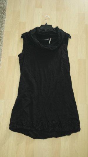 Street One Schwarzes Kleid mit Spitze