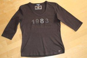Street One Shirt Gr. 42 braun zum Rock