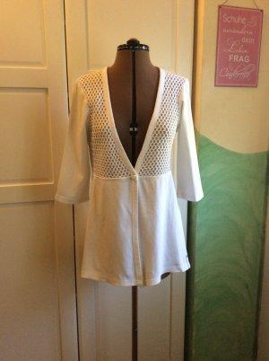 Street One Veste chemise blanc coton