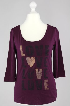 Street One Shirt lila Größe 38 1711390250372