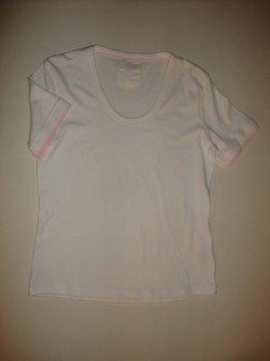 Street One Shirt Top T-Shirt rosa weiß M 38 neu