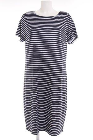 Street One Shirtkleid dunkelblau-weiß Streifenmuster Casual-Look