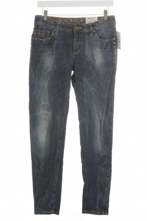 Street One Slim Jeans blau Casual-Look