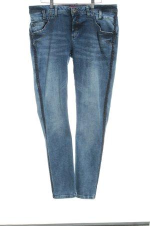 Street One Slim Jeans dunkelblau Casual-Look