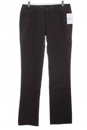 Street One Slim Jeans dunkelbraun Casual-Look