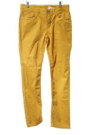 Street One Slim Jeans dunkelgelb Casual-Look
