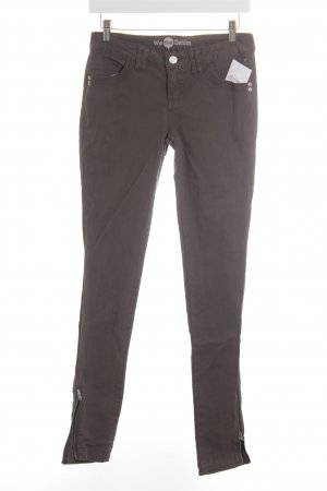 Street One Slim Jeans grau Casual-Look