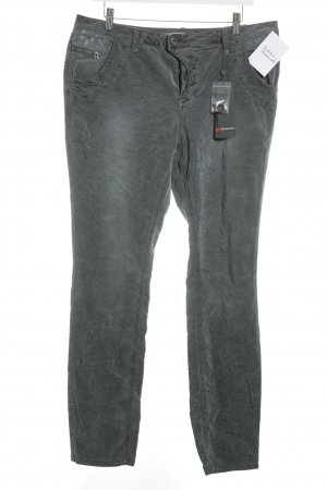 Street One Slim Jeans grau-taupe Casual-Look