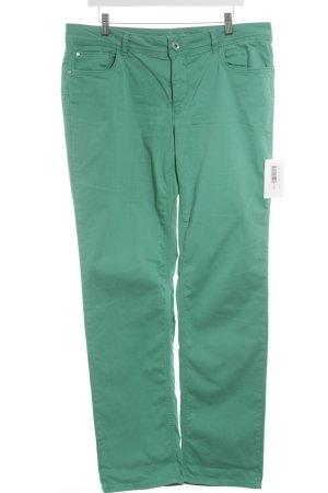 Street One Slim Jeans hellgrün schlichter Stil