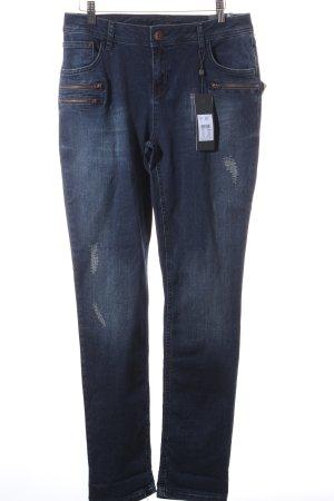 "Street One Slim Jeans ""JANE"" dunkelblau"