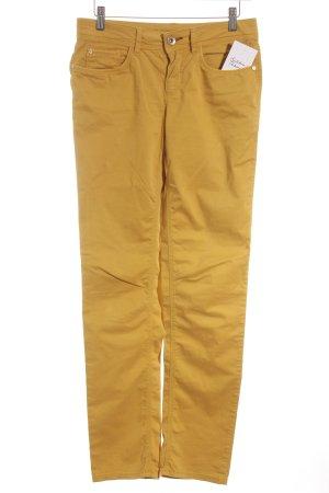 "Street One Slim Jeans ""Lynn"" dunkelgelb"