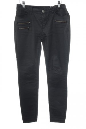 Street One Slim Jeans schwarz Casual-Look