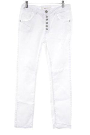 Street One Slim Jeans weiß Casual-Look