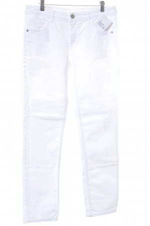 Street One Slim Jeans weiß Casual-Look Gr. 40