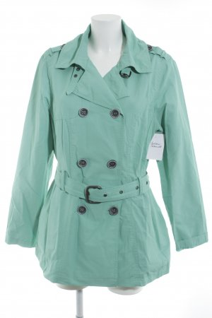 Street One Softshell Jacket turquoise casual look