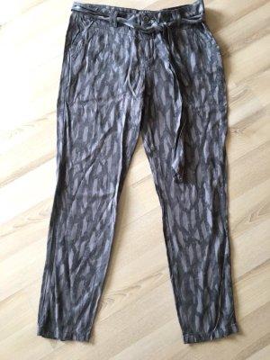 Street One Pantalon chinos gris clair viscose