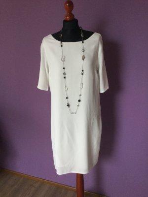 Street One Midi Dress white viscose