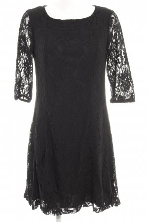 Street One Spitzenkleid schwarz florales Muster klassischer Stil