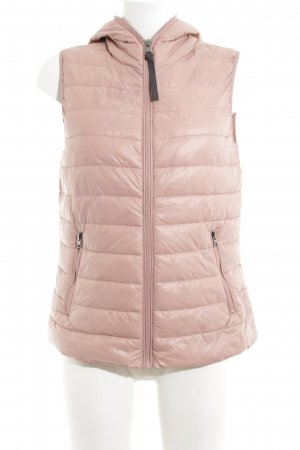 Street One Quilted Gilet pink quilting pattern casual look