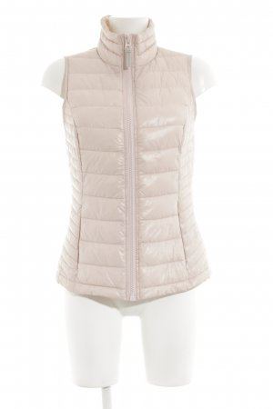 Street One Quilted Gilet cream quilting pattern casual look