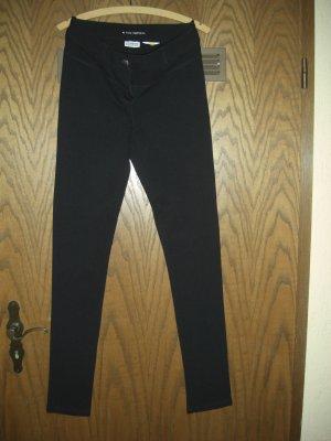 Street One, Stiefelhose, schwere Jerseyqualität, Größe 36, schwarz