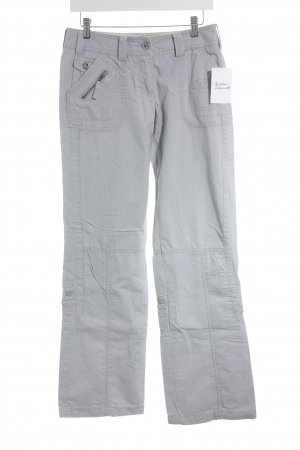 Street One Stoffhose grau Casual-Look