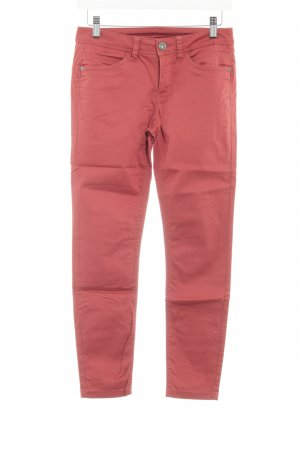 Street One Stoffhose rot Casual-Look