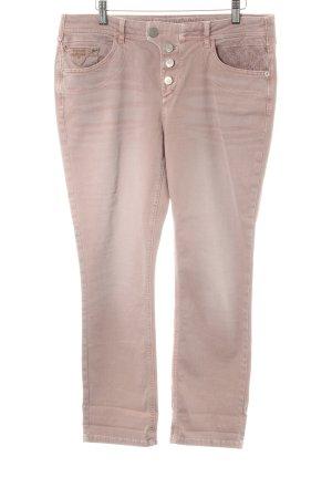 Street One Straight-Leg Jeans altrosa meliert Casual-Look