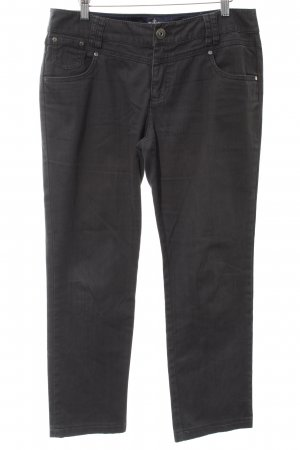 Street One Straight-Leg Jeans anthrazit Casual-Look