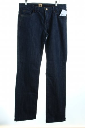 Street One Straight-Leg Jeans blau Casual-Look